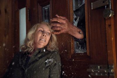 Halloween Deutschlandpremiere: Laurie und Michael im Gefecht