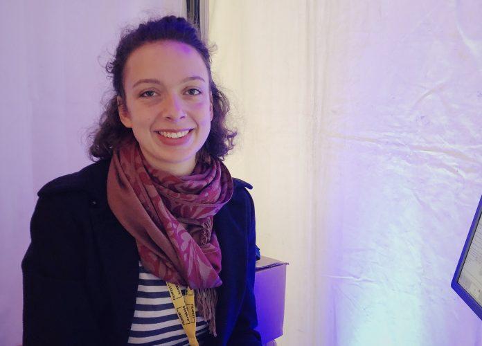 Filmfest Hamburg: Leonie Bartels bekommt jeden mit, der das Filmfest besucht. Foto: Luisa Höppner
