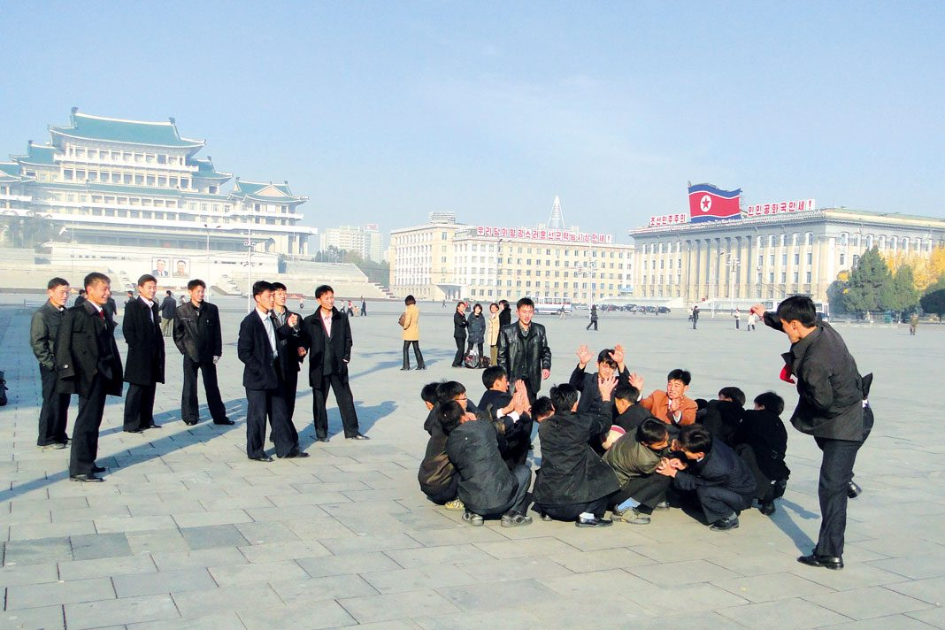 Nordkorea: Kim Il Sung-Platz. Foto: China Hansa Travel