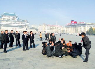 Nordkorea: Kim Il Sung-Platz. Foto: China Hansa Travel