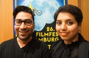 Filmemacher Nima Latifi und Ehefrau Leila Mousavi sind seit 2015 in Deutschland. Foto: Hannah Lesch
