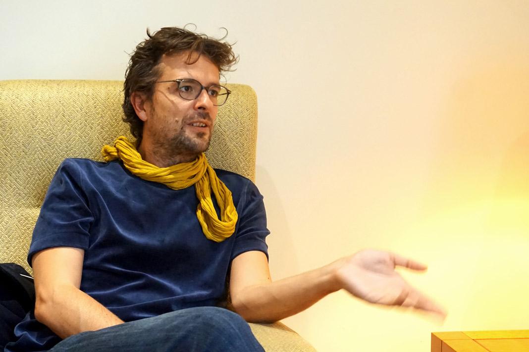 Matthieu Rytz ist der Regisseur von Anote's Ark