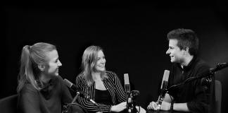 Filmfest Hamburg Podcast Team v.l. Lisa Kretz, Amelie Rolfs, Björn Rohwer.