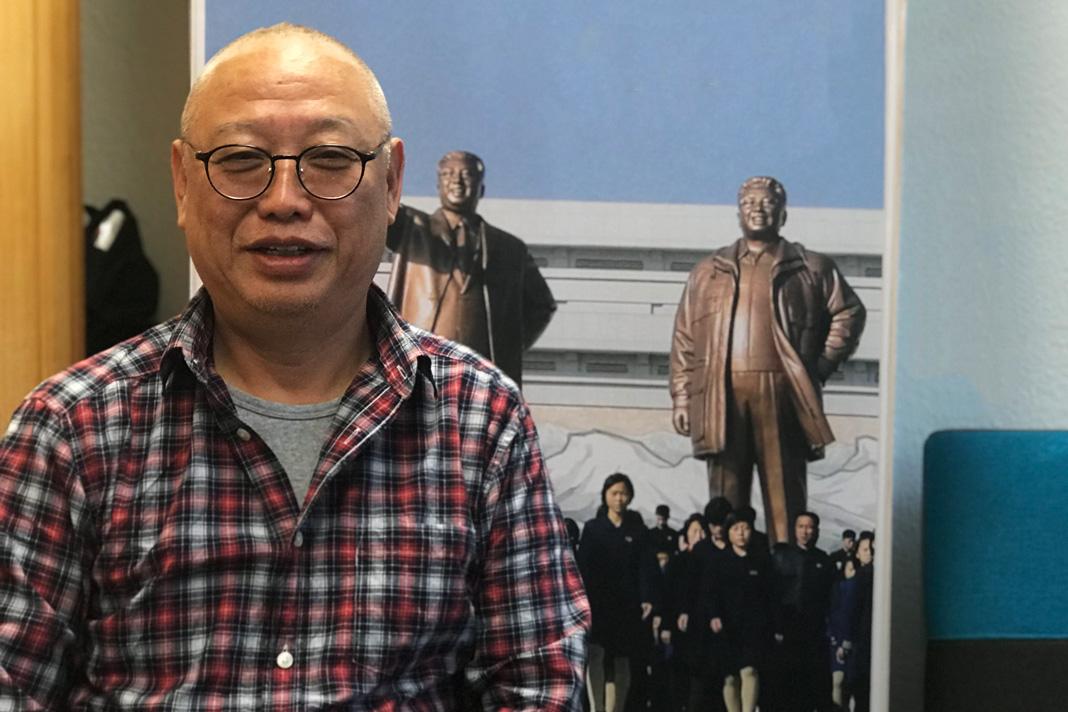 Nordkorea: Der Geschäftsführer Robert Jianli Chen ist in China geboren. Foto: Shahrzad Rahbari