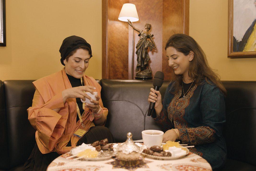 Die Hauptdarstellerin von Drei Gesichter, Behnaz Jafari, spricht mit uns über ihre Rolle. Foto: Lennart Deuß