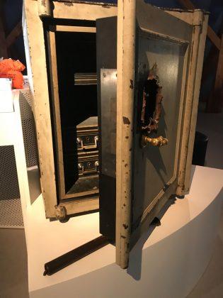 Polizeimuseum: Der Tresor, den die Petersenbande im heutigen Schanzenviertel leerte