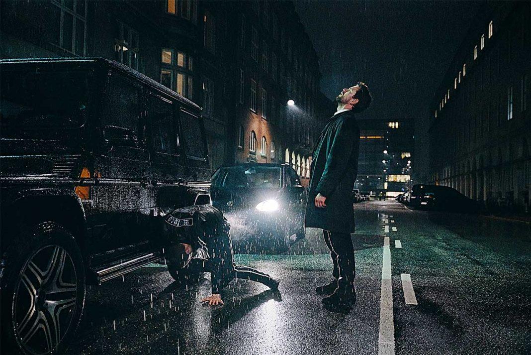 Filmszene Carl Mørck in Verachtung. Foto: Zentropa / Henrik Ohsten