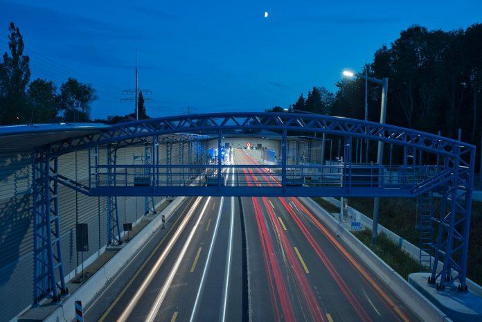Die A7 bei Nacht. Foto: VSN/Danny Thielemann