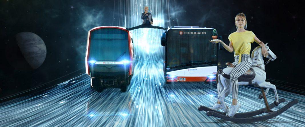 Die neue Kampagne der Hochbahn, Hypebahn.