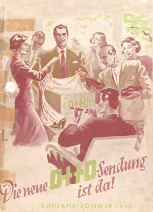 1952 gab es den Katalog schon in Farbe. Foto: Otto GmbH & Co. KG