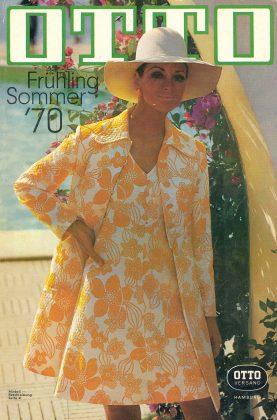 So sah der Otto-Katalog für die Saison Frühling/Sommer 1970 aus. Foto: Otto GmbH & Co. KG