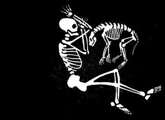 Auf dem Friedhof Ohlsdorf könnten Tier-Mensch-Gräber bald Realität werden. Grafik: Melina Deschke.