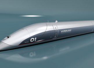 So sehen die ersten Transportkapseln des Hyperloops aus. Foto: Hyperloop Transportation Technologies