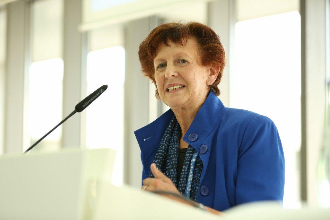 Notburga Kunert ist die erste Preisträgerin des Helene-Weber-Preises und ist schon seit vielen Jahren in der Kommunalpolitik tätig.