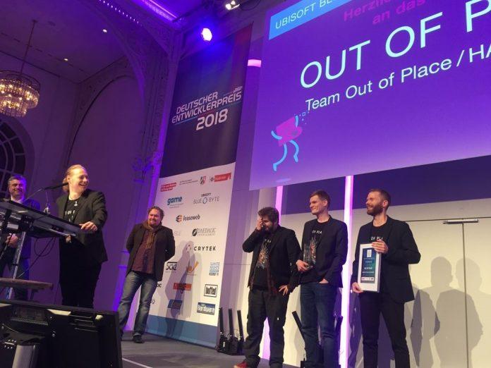 Mit Out of Place haben vier HAW-Studenten beim Deutschen Entwicklerpreis abgeräumt.