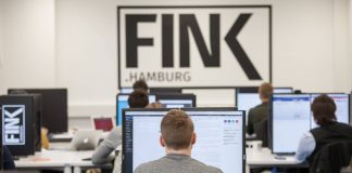 Newsroom FINK.HAMBURG im Studengang Digitale Kommunikation an der HAW Hamburg