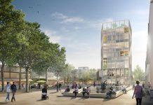 Spengler Wiescholek Architekten Stadtplaner, WES GmbH Landschaftsarchitekten, Urban Catalyst GmbH Visualisierung: Moka-studio