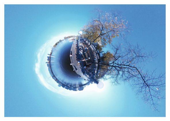 HAW Projekt: Binnenalster von Selin Mirdogan. Fotoquelle: Prof. Dr. Wolfgang Swoboda