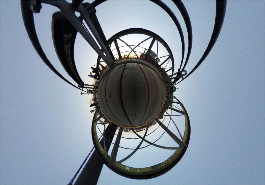 Brücke am Fischmarkt 360 grad tiny planet, von Larissa Brückner
