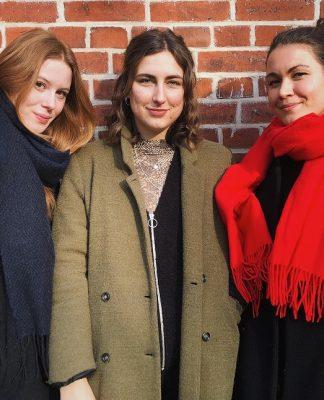 FINK about Media - Podcasterinnen Anika, Jana & Luisa (v.l.)