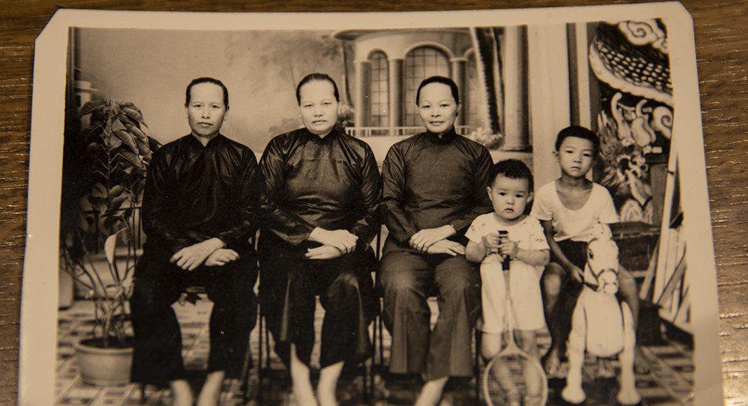Die Familie von Chong Tim Lan in China.