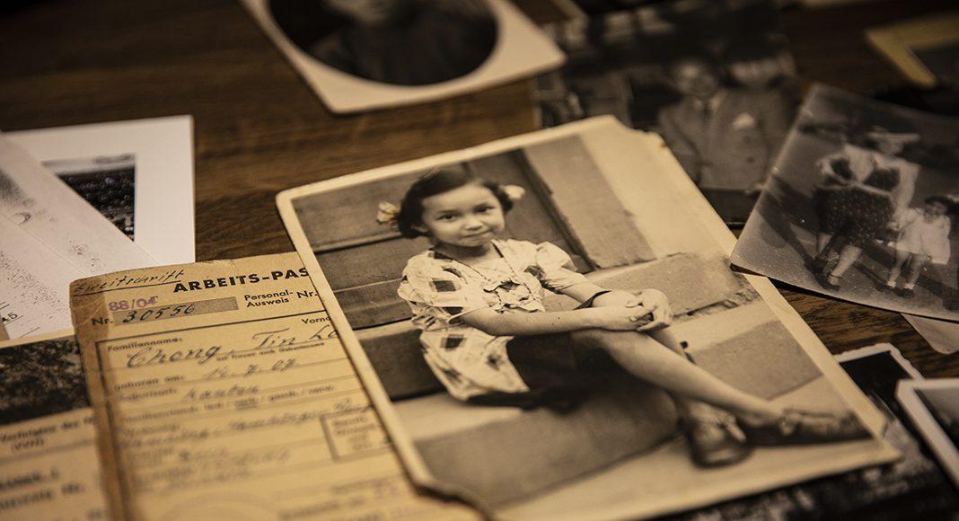 Foto von Marietta Solty als kleines Mädchen. Während der Chinesenaktion lebte sie in Heidelberg Foto: Nadine von Piechowski