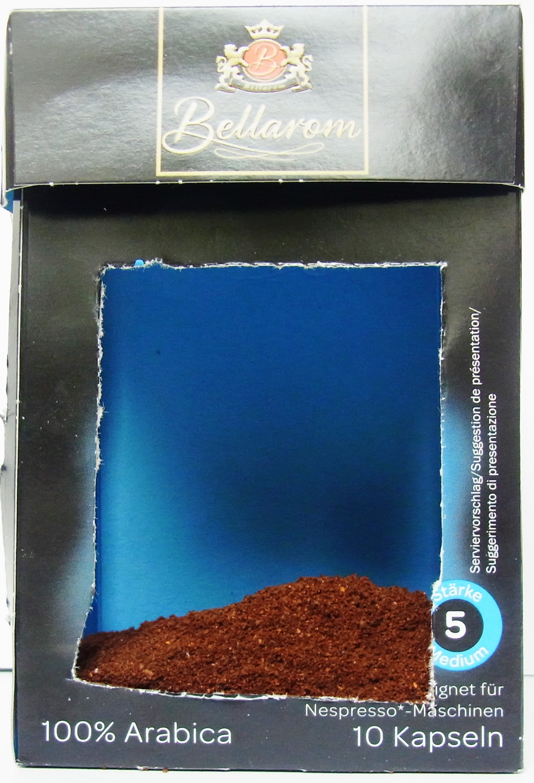 Nur so viel Kaffee befindet sich im Kapsel-Kaffee von Lidl. Kapselkaffee von Lidl. Foto: Verbraucherzentrale Hamburg