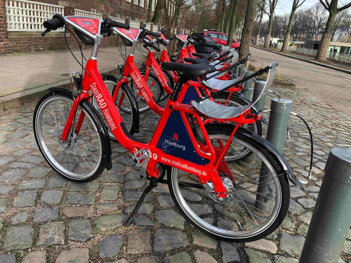 Am 31.01.2019 wird das neue Stadtrad in Betrieb genommen. Foto: Luisa Höppner