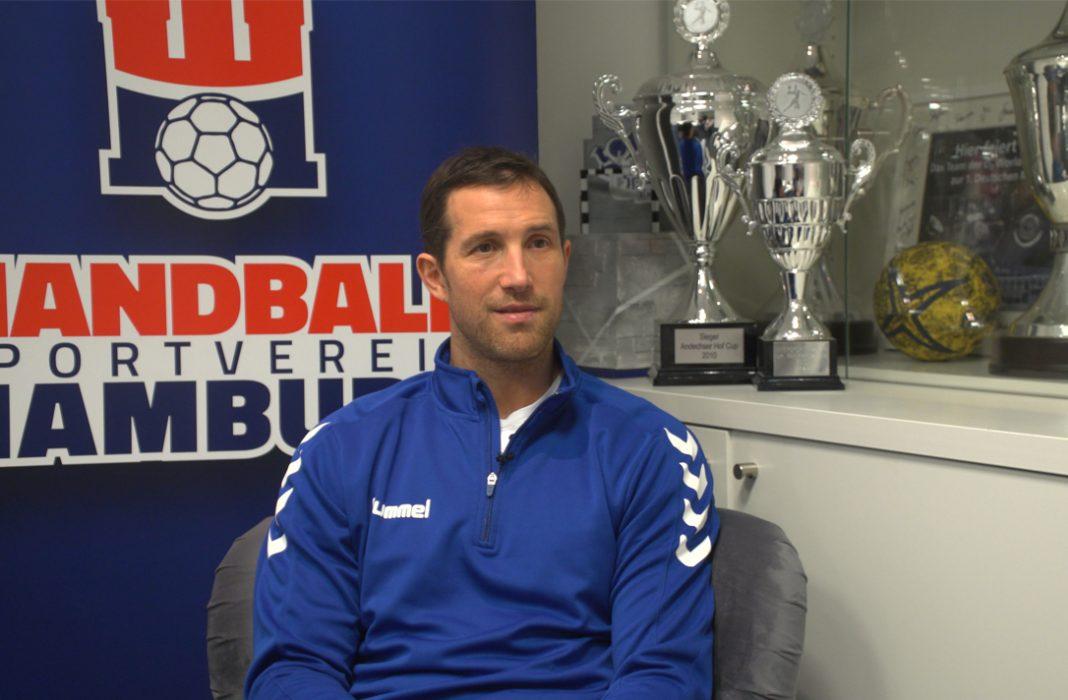 Toto Jansen zum Rückrundenstart des HSV Handball