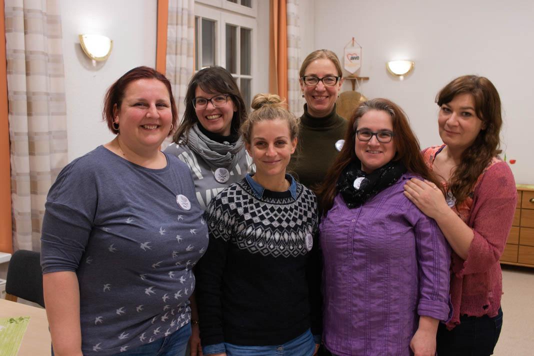 Das Organisatorinnen-Team der Wooligans: Kati, Sarah,Johanna, Ina, Maike und Anne (v.l.n.r). Foto: Melina Mork