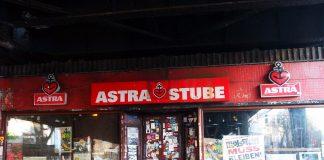 Die Astrastube an der Sternbrücke in Hamburg.