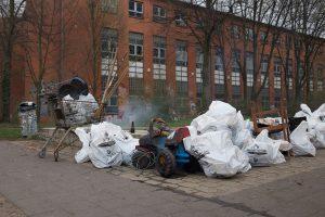 Die Müllsammelaktion am Veringkanal