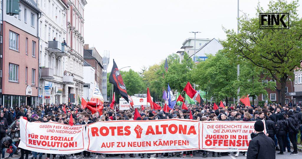 Hamburg 1 Mai