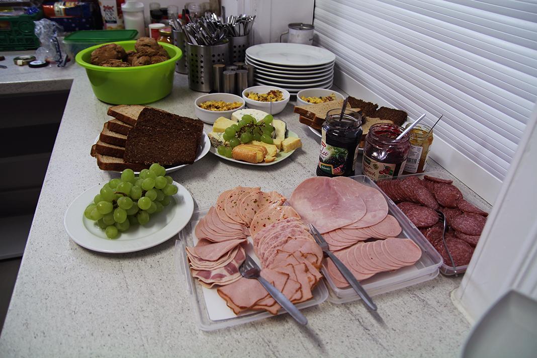 Frühstück im Harburg-Huus
