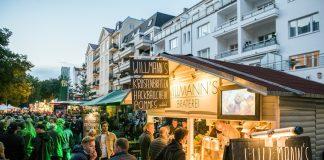 Essenststand auf dem Uhlenhorster Stadtteilfest.
