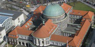 Uni Hamburg von oben