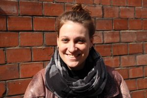 Portrait von Sarah.