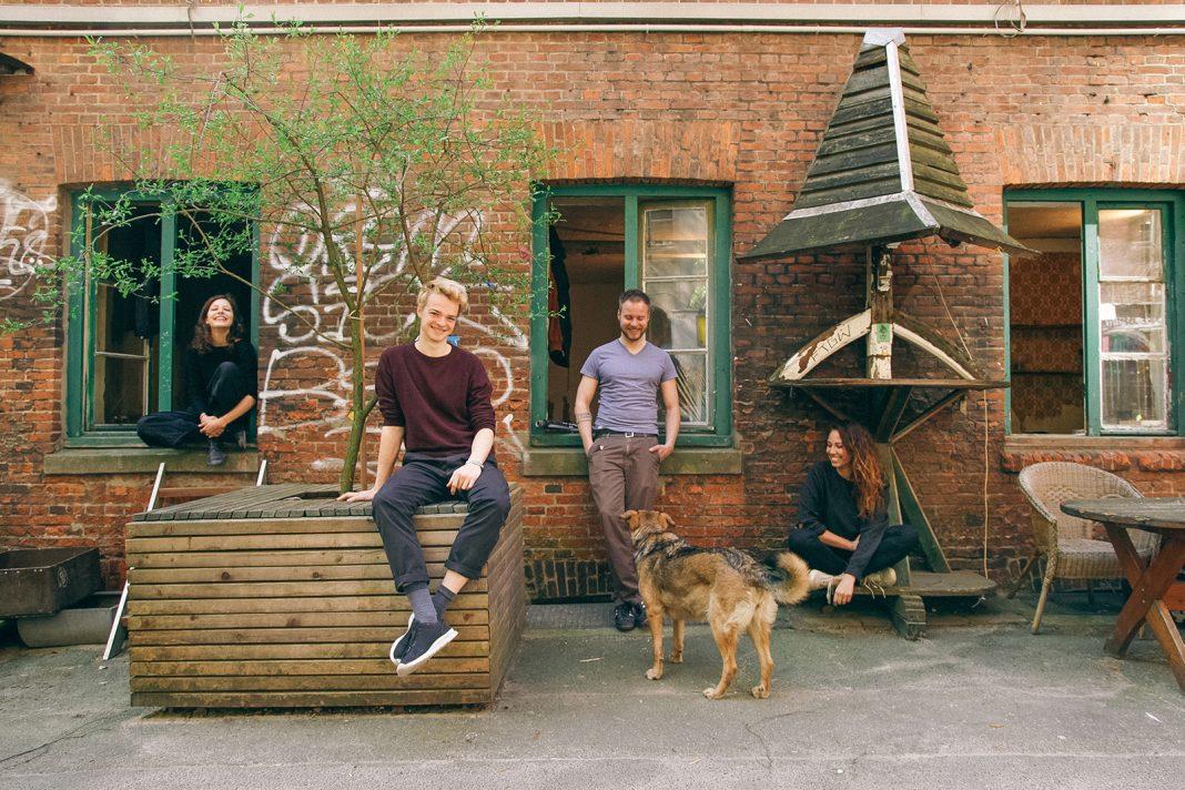 Das Kernteam des Projektes: Lisa, Andreas, Dr. Stephan Fender und Lisa. (v. l. n. r.) Foto: Lisa Marie Fechteler