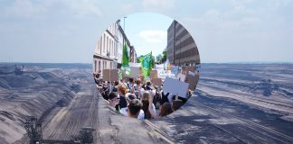 Tagebau Garzweiler und Fridays For Future Demo