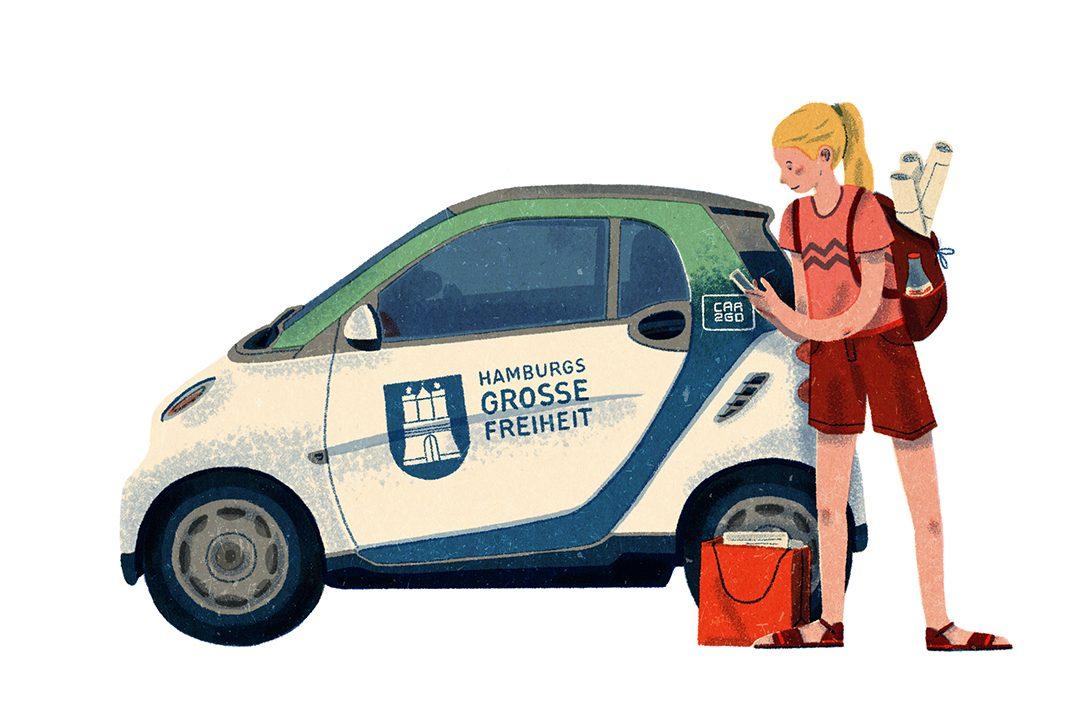 Hamburg Wie Gut Kannst Du Teilen 3 Car2go Fink Hamburg