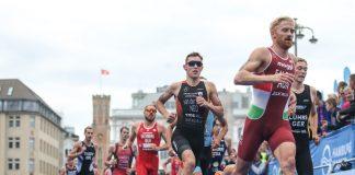 Läufer beim Hamburg Wasser World Triathlon 2018