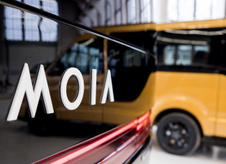 Logo des VW-Konzerns Moia