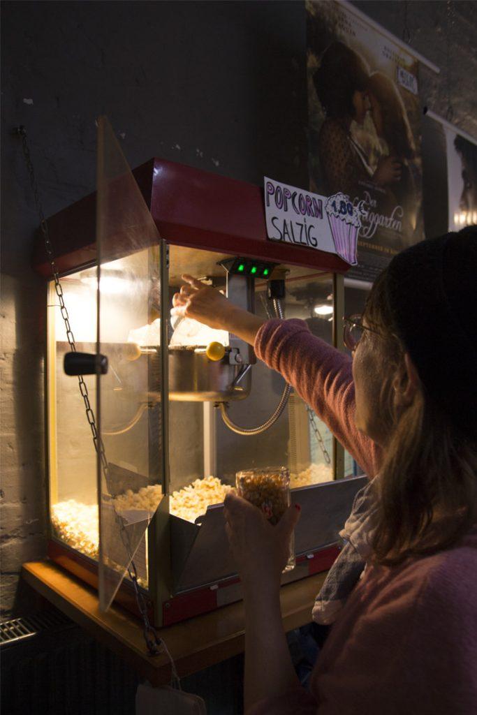 Popcornmaschine im Alabama Kino