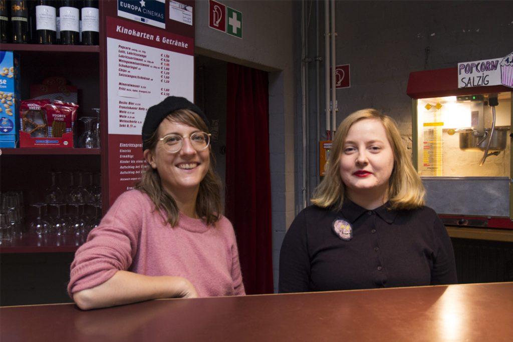 Mitarbeiterinnen des Alabama Kinos
