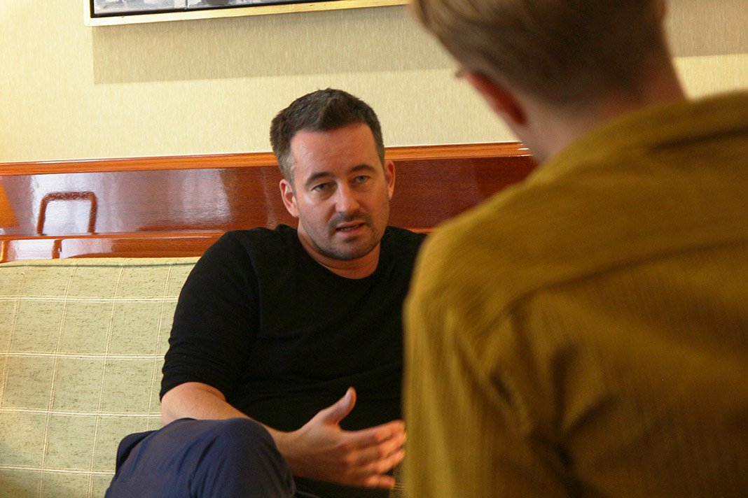 Christian Schwochow, Regisseur von Deutschstunde, spricht mit FINK-Redakteur Max Schulte.