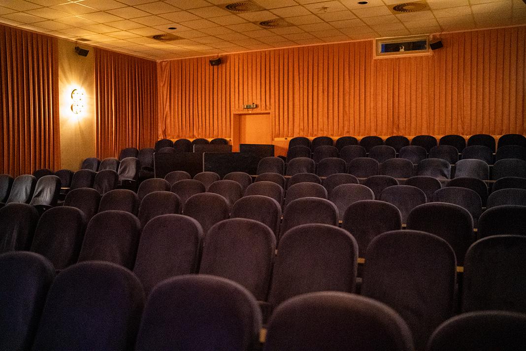 Kinositzreihen eines Kinosaals