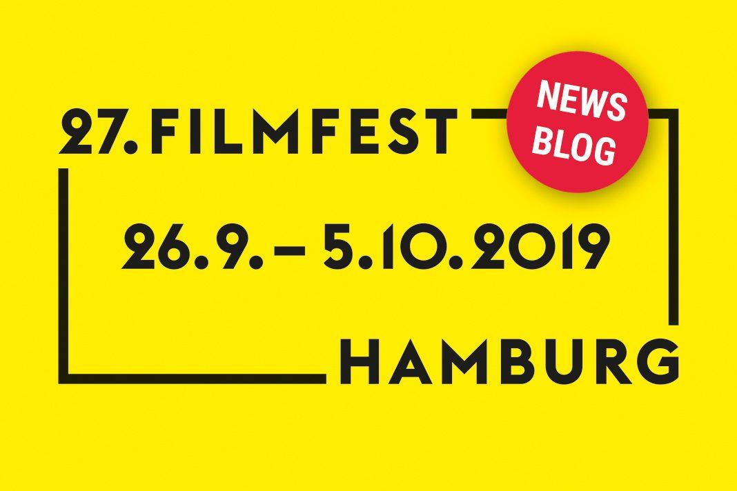 Logo Filmfest hamburg 2019 mit Newsblog-Button.