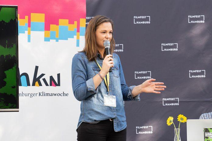 Ronja Niendorff moderiert beim Umwelttag des Michel Kinder- und Jugend-Filmfest.