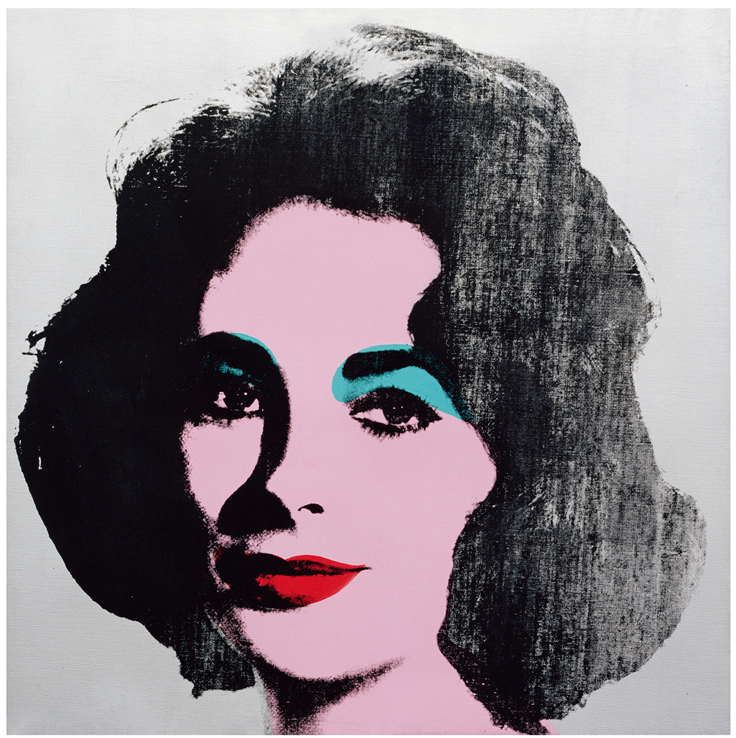 Andy Warhol: Silver Liz, 1963