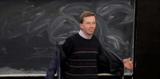 Bernd Lucke bei Antrittsvorlesung